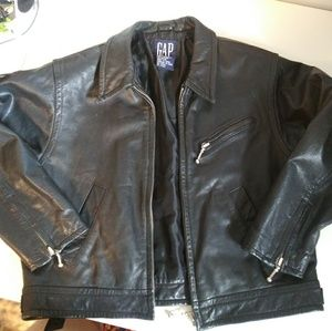 Girls Leather Jacket by Gap